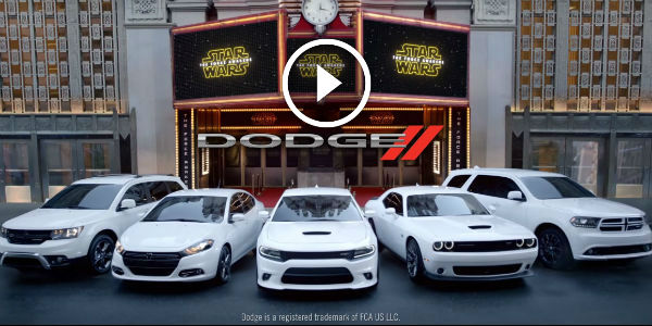 This Is Probably THE BEST CAR COMMERCIAL IN THE HISTORY OF TIME: The Force Awakens With This INTIMIDATING IMPERIAL MARCH With Dodge Vehicles!!!