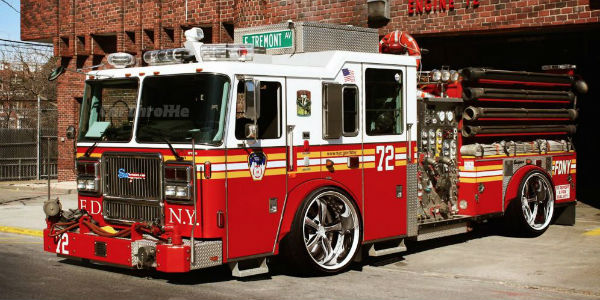 Muscle Car Rims >> The world's most useless fire truck side three quarters ...