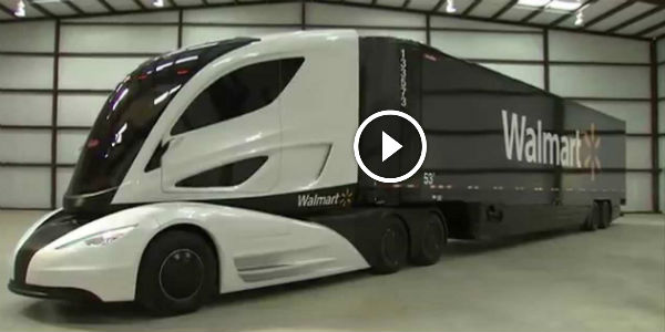 Walmart Actually May Have Built THE COOLEST SEMI-TRUCK ...
