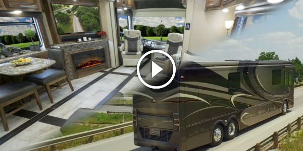The legendary luxury 1 2m foretravel rv review at motor for Motor home specialist reviews