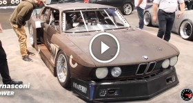 Rusty Slammington BMW at SEMA Show 2015