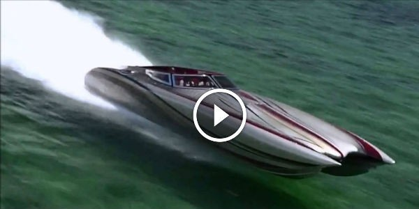 you know you have a fast boat when you need a helicopter to film it 180 mph on 50 39 cat key. Black Bedroom Furniture Sets. Home Design Ideas