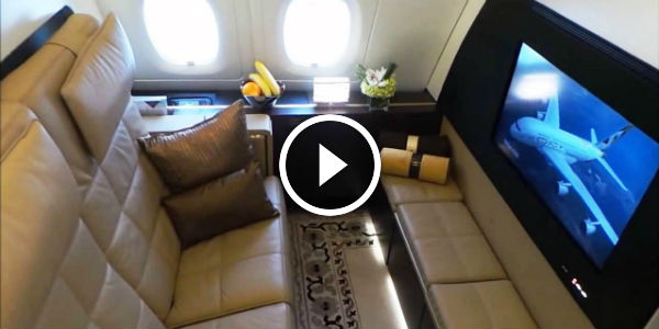 First Class Apartment Experience Onboard Etihad Airways From London To Abu Dhabi On Brand New