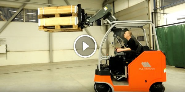 HERE TO CHANGE THE FUTURE FOREVER: The Maxtruck 2T Is An Omni-Directional Forklift MOVABLE IN ...