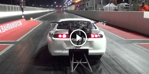 The World S Fastest Import Is Here Crazy Fast 1 4 Supra
