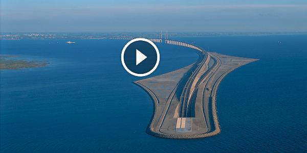 scandinavian architectural masterpiece  the oresund bridge  u0026 underwater tunnel not only links
