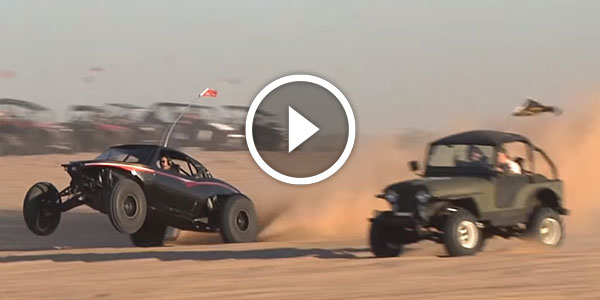 1600+ HP Sandrail By Racer Engineering That Stands Out From
