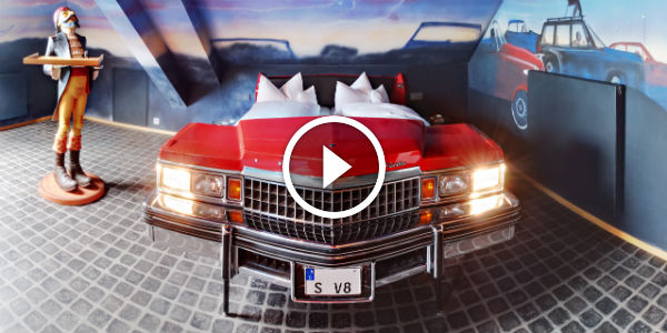 V8 Hotel Is The AUTOMOTIVE FOUR STAR DESIGN HOTEL In The ...