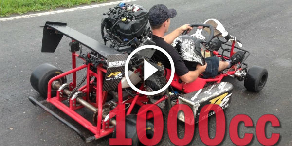 how to go fast in a go kart