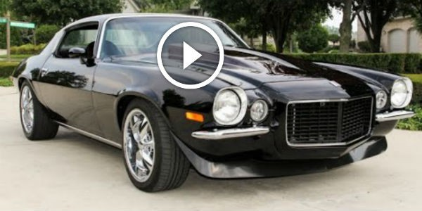 1971 camaro for sale anxiously waiting for you at vanguard motor sales really sweet 2nd gen. Black Bedroom Furniture Sets. Home Design Ideas