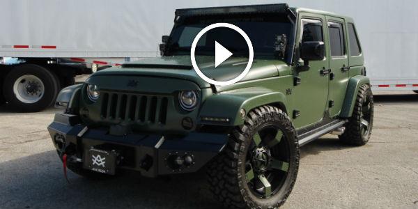 Avorza Jeep Wrangler BRUTAL BAF Edition: Stunning Product OF