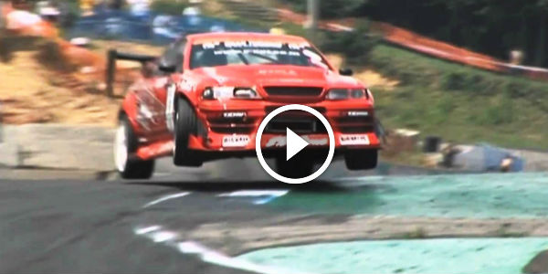 This Glorious Jump Drift During D1gp Round 5 2010 At Ebisu