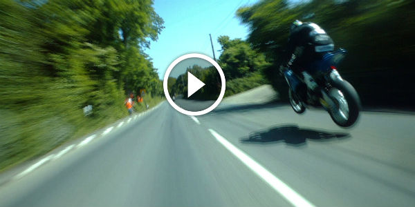 Follow Guy Martin And His Tyco Suzuki SUPERBIKE WEAPON For A MAD DASH Around THE FAMOUS ISLE OF MAN TT COURSE, As He Chases BMW Mounted Michael Dunlop!!!