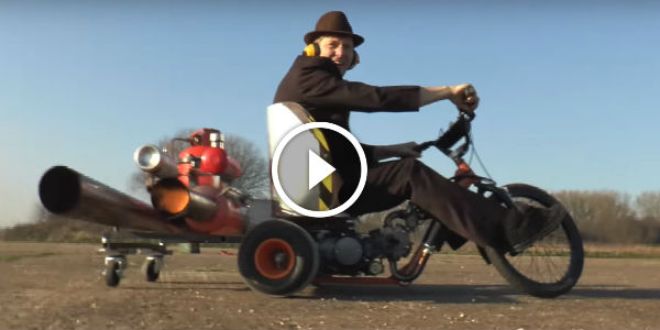 Pulse Jet Trike Drifting LIKE NEVER BEFORE! Is This THE NEXT STEP IN DRIFT EVOLUTION?!