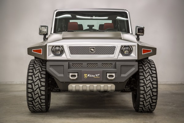 Rhino XT front end