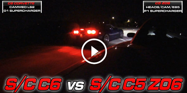 Chevrolet Corvette C6 FASTLIFE SUPERCHARGED Vs Supercharged