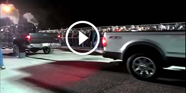Ford Super Duty VS. Dodge Diesel TUG OF WAR Showing TREMENDOUS POWER!!! So Which One Wins? - NO