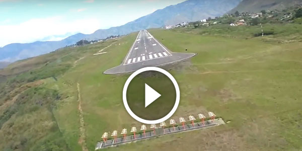 2016 Dodge Magnum >> One Of The MOST DANGEROUS LANDINGS Shot In Colombia