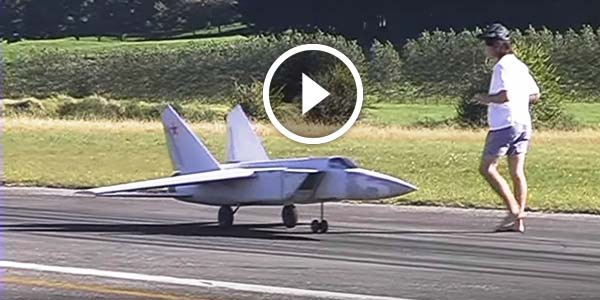 World S Largest Mig 25 Rc Model Skillfully Test Flown By