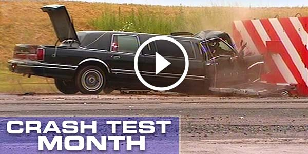 Watch The World S First Stretch Limousine Crash Test By
