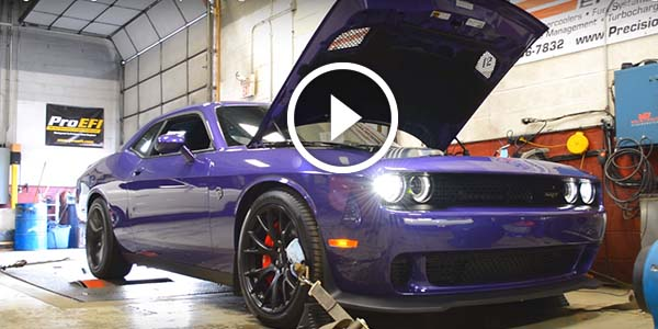 Dodge Challenger Hellcat Bone Stock WITH ONLY 500 MILES On It Gets The Dyno Test At Sound ...