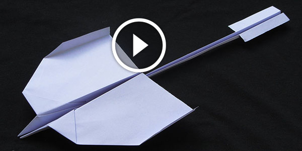 How To Make A Beautiful Paper Airplane That Will Fly Like