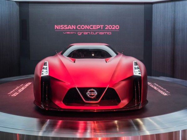 Nissan GTR Concept Gran Turismo - front end