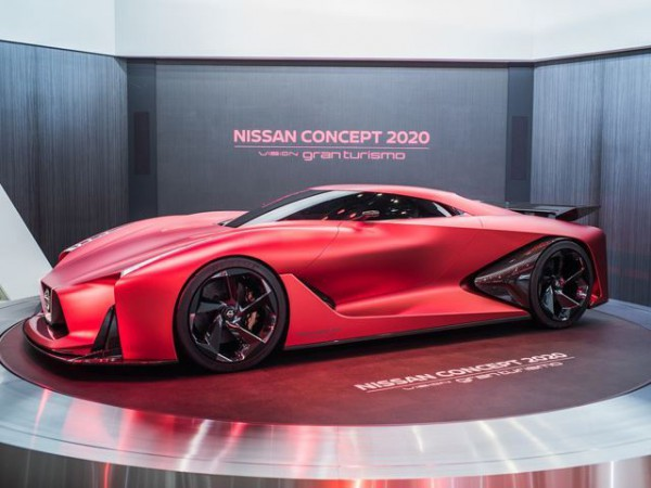 Nissan GTR Concept Gran Turismo - side view