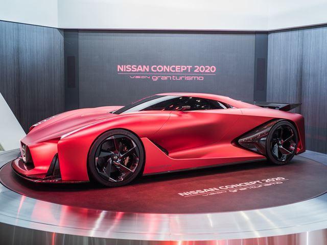 Nissan GTR Concept Gran Turismo - side view - NO Car NO ...