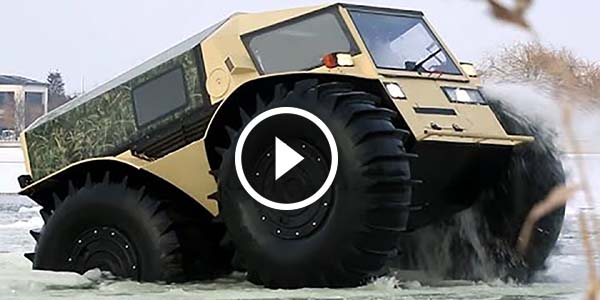 Willys Jeep Truck >> Russian Amphibious ATV SHERP Is The ULTIMATE Off-Road Vehicle!!! Would You Like To Go WHEREVER ...