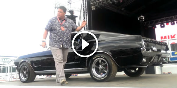 Mike Brewer's 1967 Mustang Fastback Exposed At 2014 ...