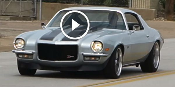 Cortez Silver 1970 Camaro Z28 Is THE REAL Muscle Car