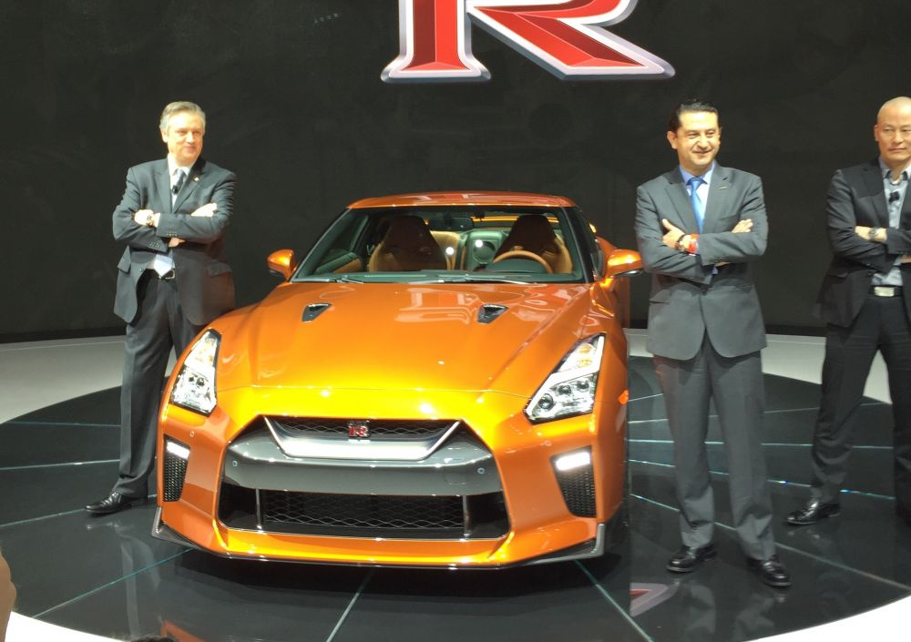 2017 Nissan GTR front end - NO Car NO Fun! Muscle Cars and Power Cars!