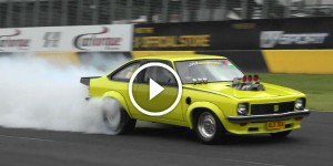 ALX304 BLOWN Holden TORANA TEARING IT UP AT POWERCRUISE 60