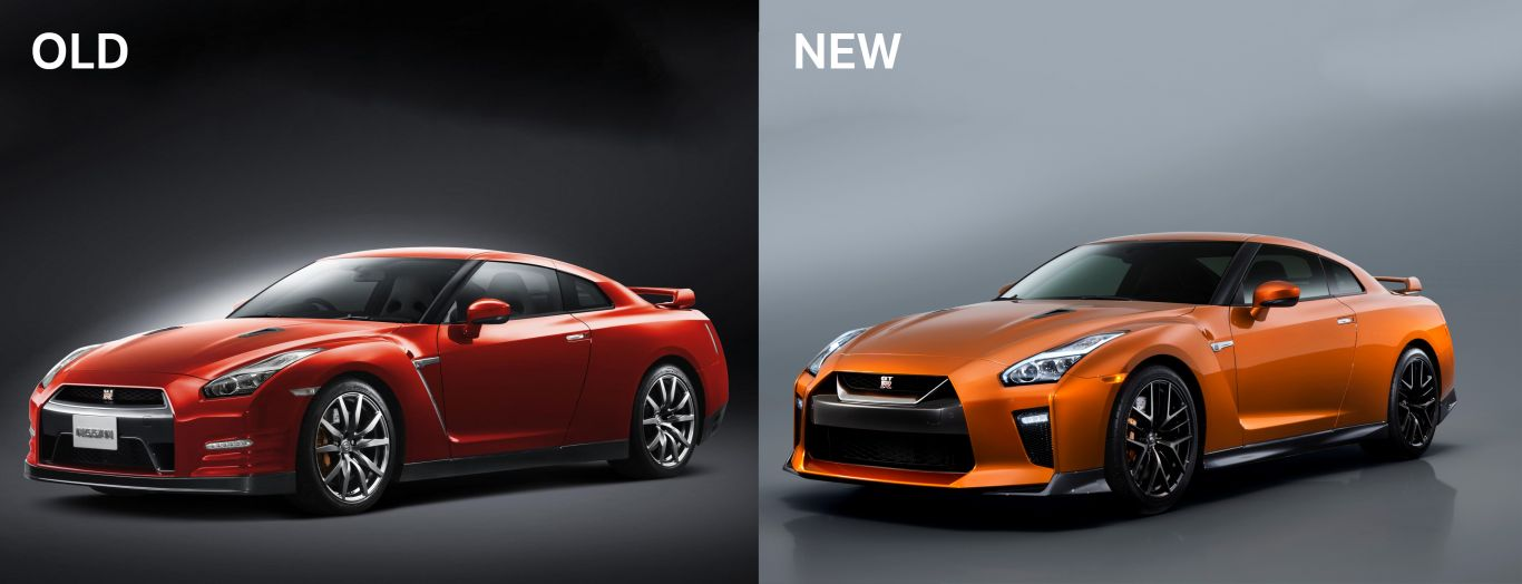 nissan gtr old compared to new no car no fun muscle cars and power cars. Black Bedroom Furniture Sets. Home Design Ideas