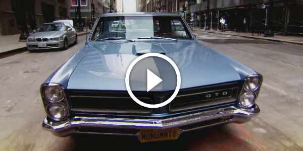 Testing The 1966 Pontiac GTO's STREET RACING ABILITIES In The Middle Of Chicago! ABSOLUTELY LOVING That GTO!