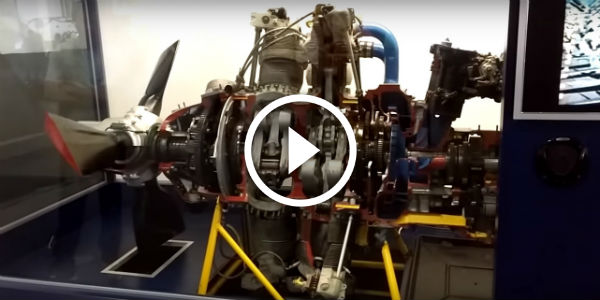 PW Engine Double Wasp And DOUBLE THE EXCITEMENT@ USS Midway