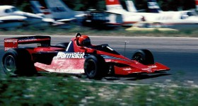 Racing cars Brabham BT46B in motion - cl