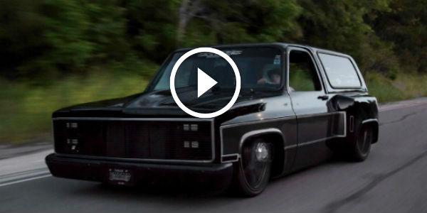 "2015 Dodge Magnum >> 1986 Chevrolet Blazer K5 DUALLY BODY DROPPED On 26"" Aztec ..."