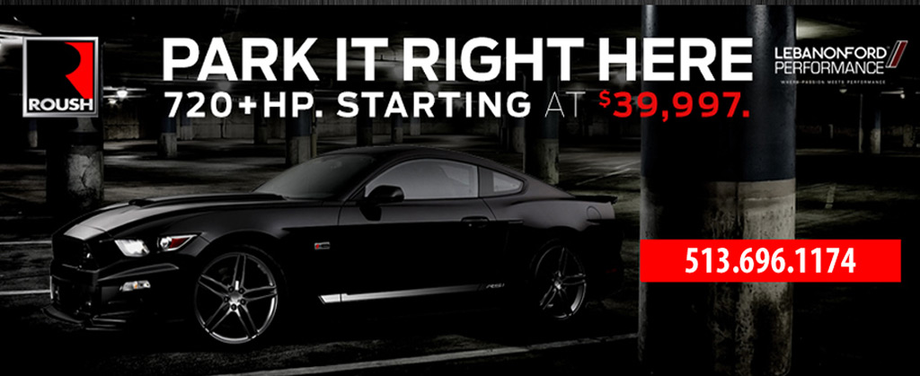 Lebanon Fords Ad For Its  Horsepower Ford Mustang Gt