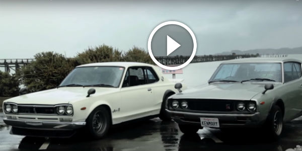 NOT JUST ONE, But Two Japanese Epic Cars: The NISSAN SKYLINE HAKOSUKA And The KENMERI!!! Ivan Jaramillo PASSIONATELY Describes His Love!