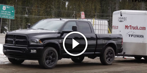 the 2015 ram 2500 cummins looks mean in all black how does it compare to the gmc duramax when. Black Bedroom Furniture Sets. Home Design Ideas