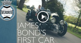 James Bond's first car Supercharged Birkin Bentley Blower