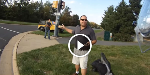 Angry Man DRAMATICALLY LOSES HIS TEMPER After A Teenage Pedestrian Jaywalks In Front Of Him!!! Watch His FURIOUS REACTION!