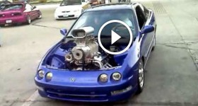Blown 454 big block powered acura integra