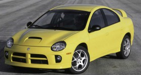 Dodge Neon SRT-4 FAST SIX front three quarters - cl