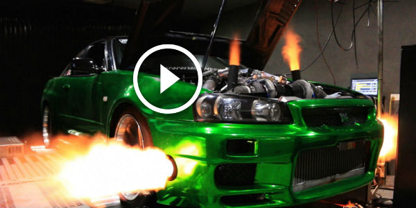 "2016 Dodge Magnum >> VR38 Engine Drives This INSANE Nissan Skyline R34 GT-R ""ERUBISU""! Getting The 4WD To Work And ..."
