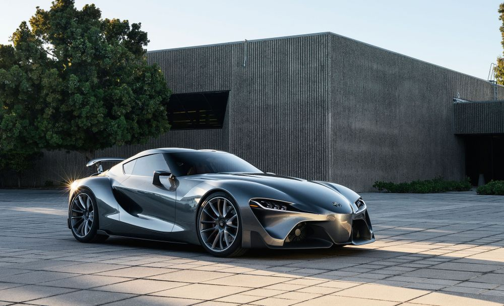 toyota supra mkv concept car front three quarters - NO Car NO Fun ...
