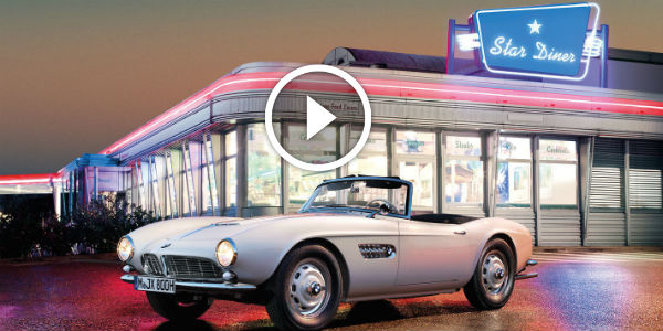 MEGA WORK OF ART: BMW Masterfully Restored The Beautiful BMW 507 Owned By THE KING ELVIS PRESLEY!!!