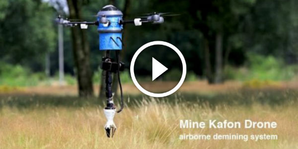 The Incredible Mine Kafon Drone Can CLEAR ALL THE MINEFIELDS Around The World IN LESS THAN TEN YEARS!!!
